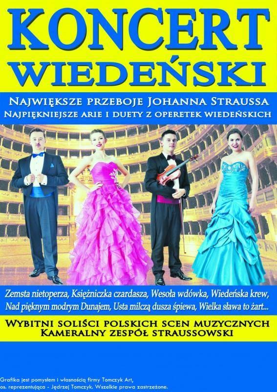 Koncert Wiedeński w Domu Kultury w Kętach