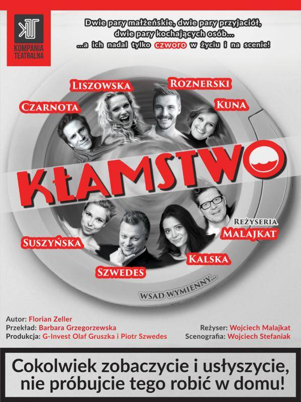"""Spektakl """"Kłamstwo"""" w Kinie Wolność w Szczecinku"""