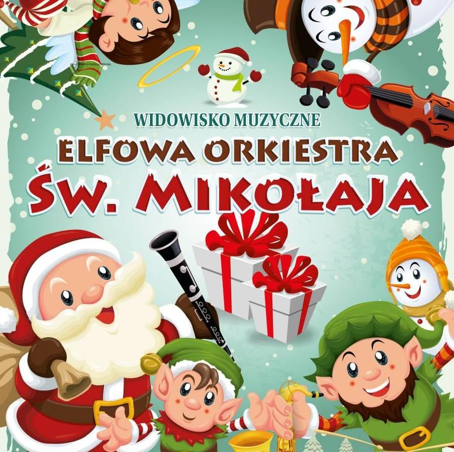 Widowisko muzyczne w Muzeum Manggha w Krakowie: Elfowa Orkiestra Św. Mikołaja