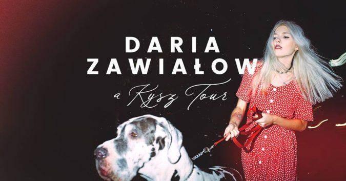 Koncert Darii Zawiałow w Regionalnym Centrum Kultury w Kołobrzegu
