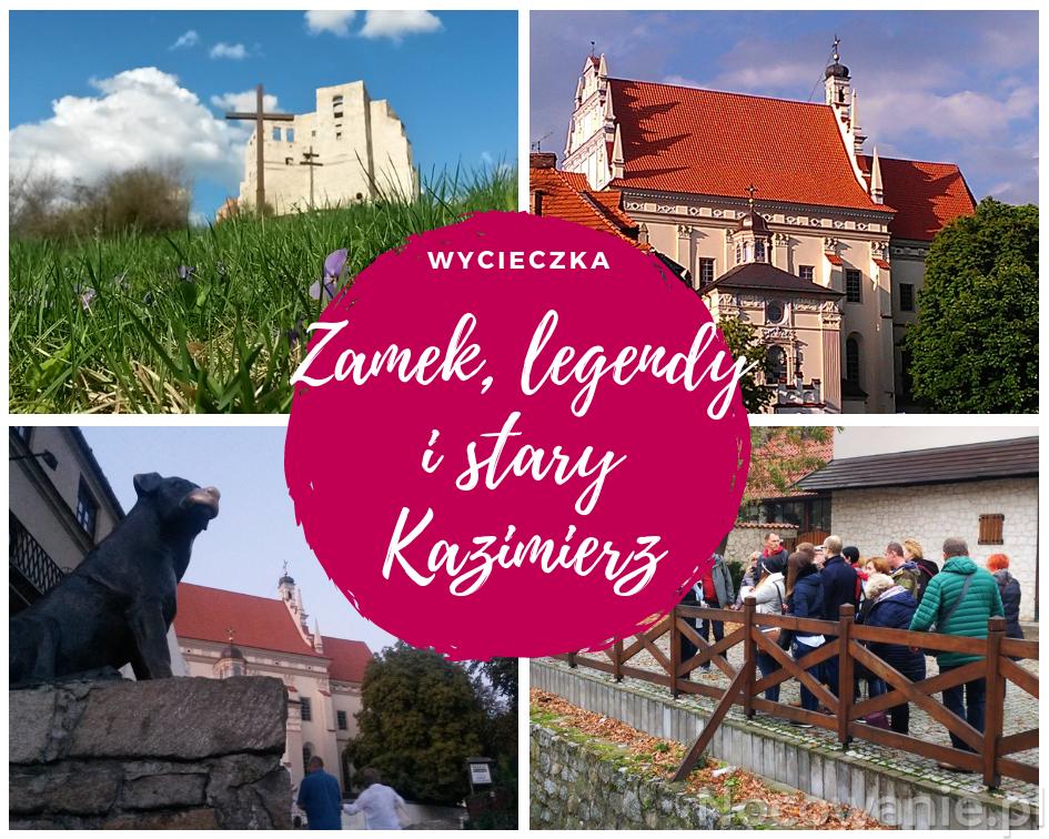 Zamek, baszta i stary Kazimierz
