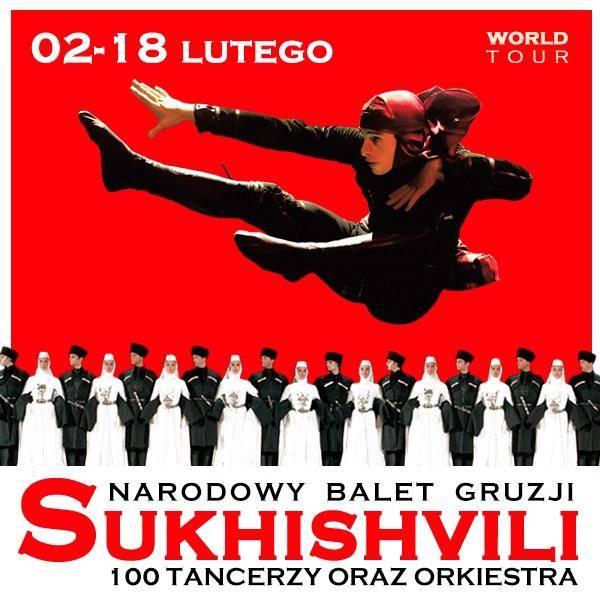 """Narodowy Balet Gruzji """"Sukhishvili"""" w Hali Urania w Olsztynie"""