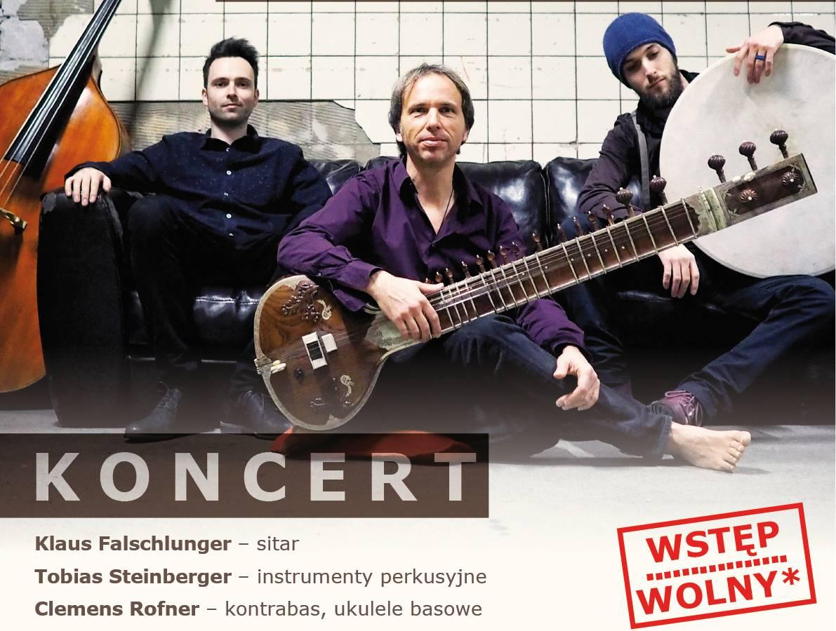 """Koncert WorldJazzTrio """"INDIAN AIR"""" w Andrychowie"""