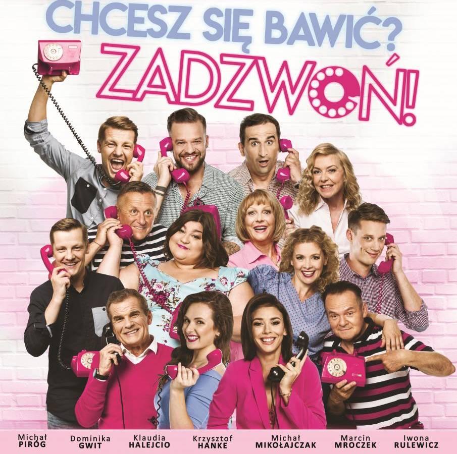 """Spektakl """"Chcesz się bawić? Zadzwoń!"""" w Centrum Kongresowym UP w Lublinie"""