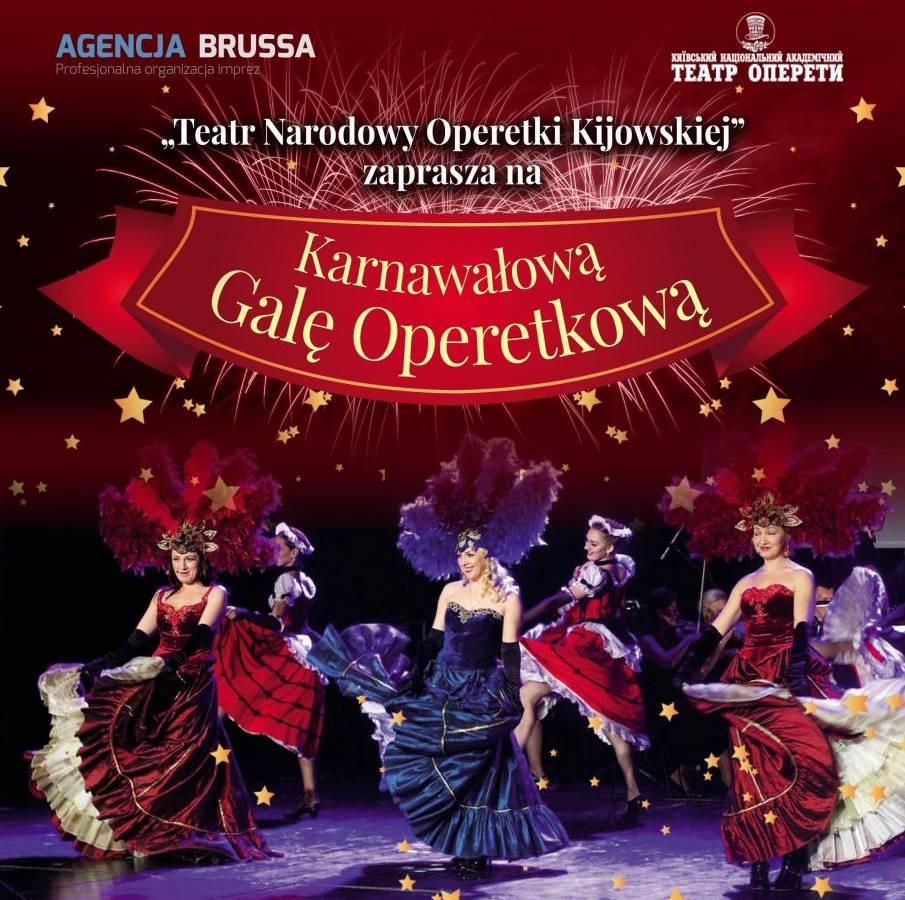 Koncert Karnawałowy Teatru Narodowego Operetki Kijowskiej w Częstochowie