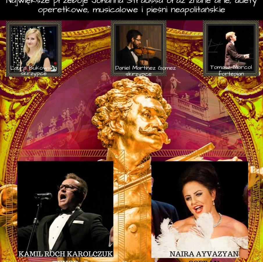 Koncert Strauss Gala w Dworze Artusa w Toruniu