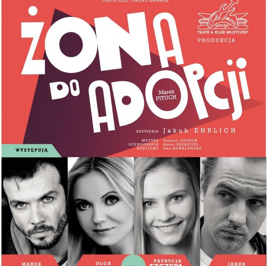 """Spektakl """"Żona do adopcji"""" w Jeleniogórskim Centrum Kultury"""