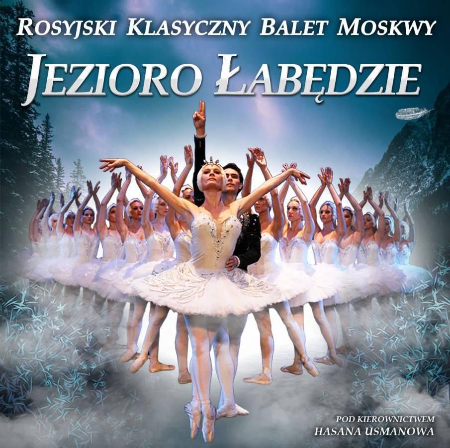 """Balet """"Jezioro Łabędzie"""" w Orlen Arenie w Płocku"""