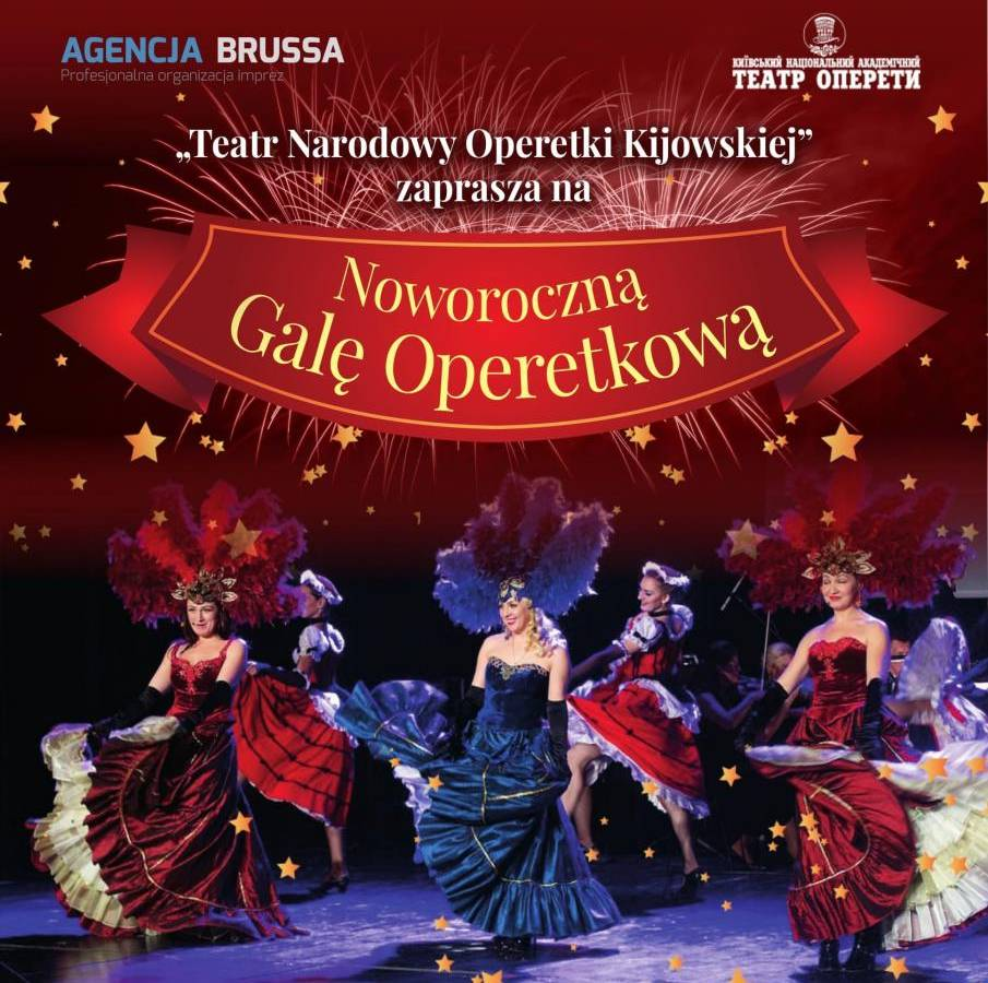 Koncert Noworoczny Teatru Narodowego Operetki Kijowskiej w Zielonej Górze