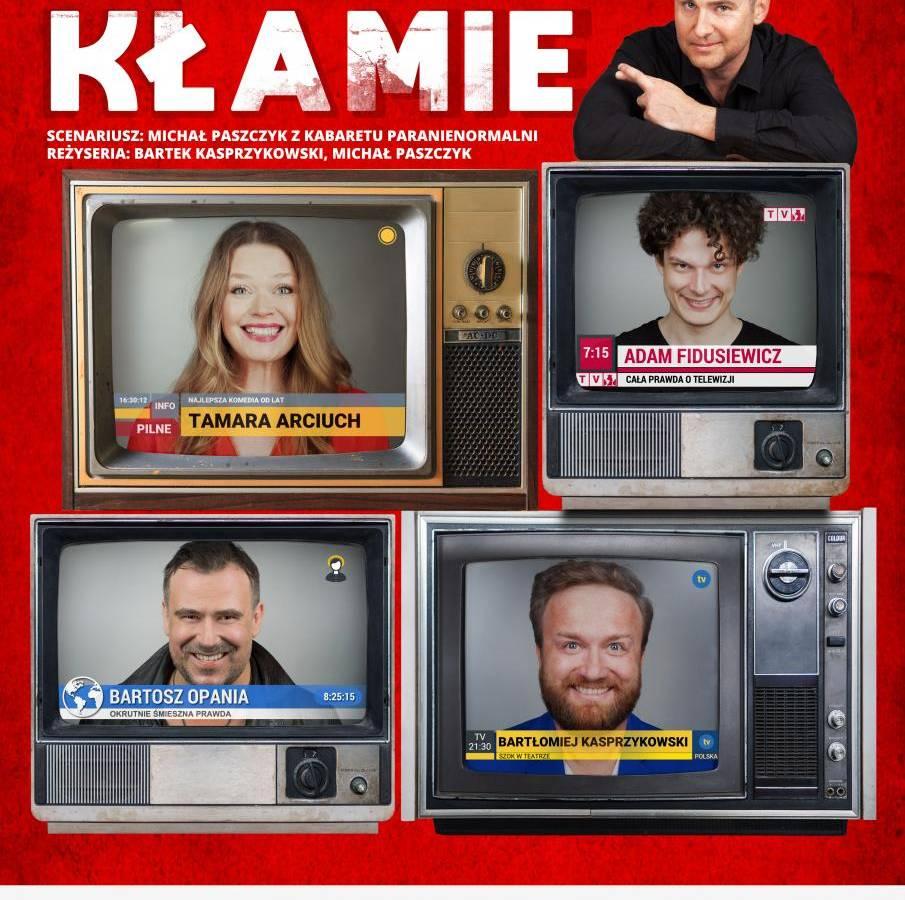 """Spektakl """"Telewizja Kłamie"""" w Regionalnym Centrum Kultury w Krośnie"""