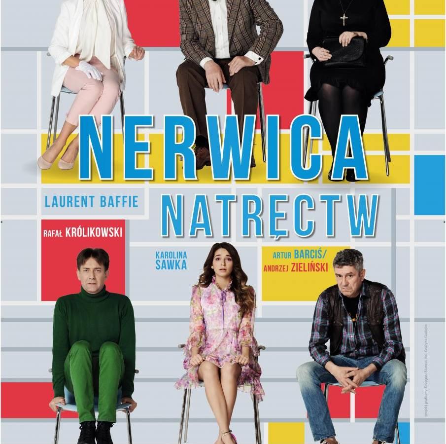 """Spektakl """"Nerwica natręctw"""" w Lublinie"""