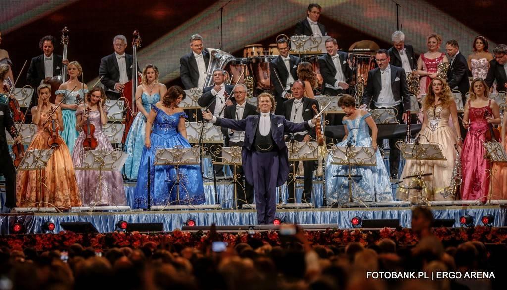 Koncert André Rieu w Ergo Arenie w Gdańsku