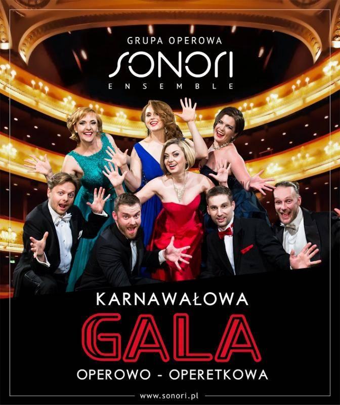Gala Operowo-Operetkowa w Filharmonii Sudeckiej w Wałbrzychu
