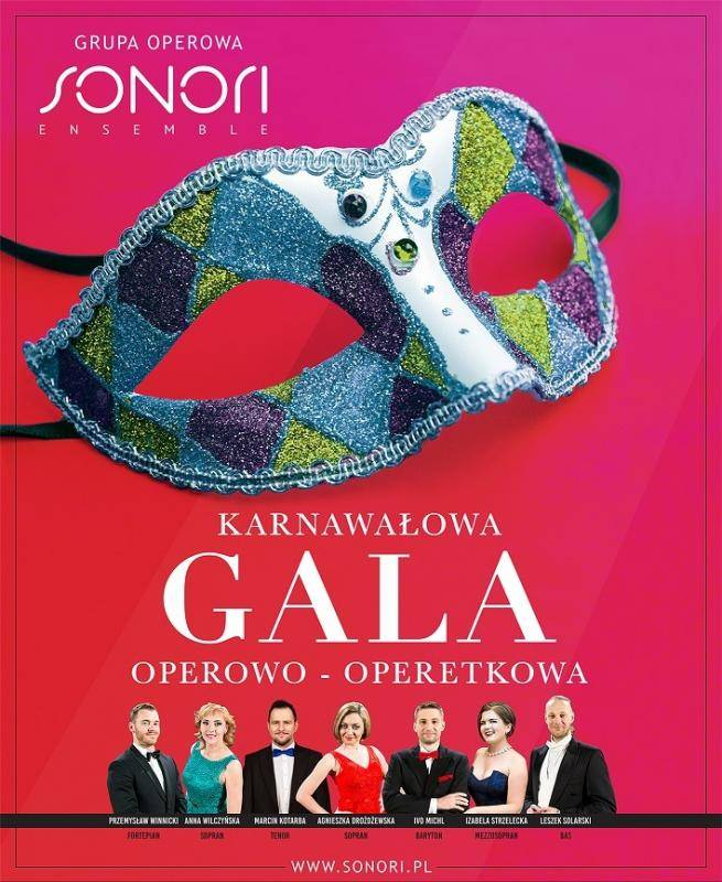 Szczawno-Zdrój: Karnawałowa Gala Operowo-Operetkowa - najpiękniejsze arie, duety