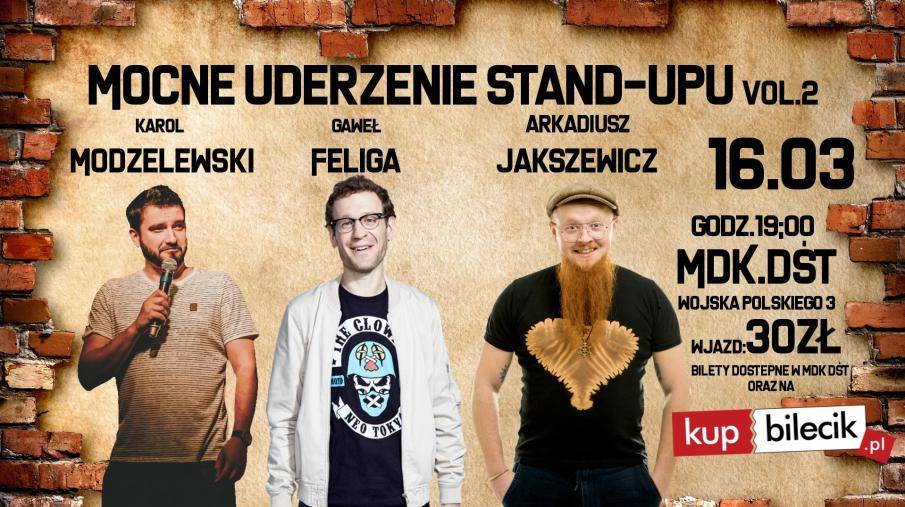 Mocne uderzenie stand-upu w Garage Grill & Bar w Łomży
