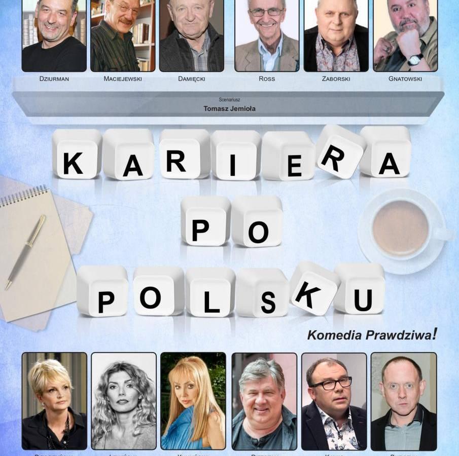 """Spektakl """"Kariera po polsku"""" w Miejskim Ośrodku Kultury w Nowym Targu"""
