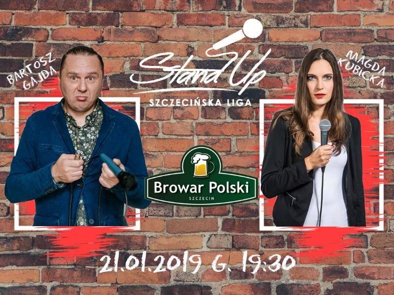 Szczecińska Liga Stand-Up-w Klubie Muzycznym Browar Polski w Szczecinie
