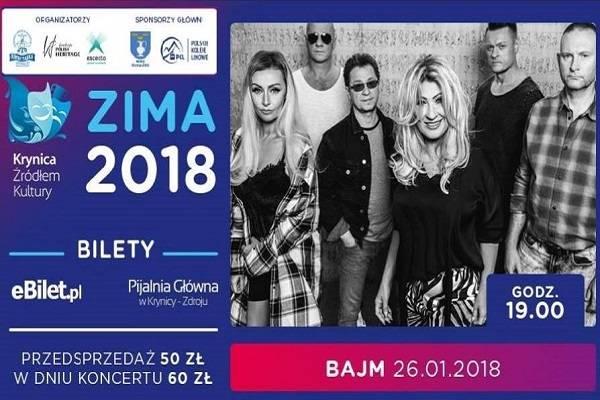Koncert: zespół Bajm w Krynicy-Zdroju