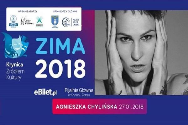 Koncert: Agnieszka Chylińska w Krynicy-Zdroju