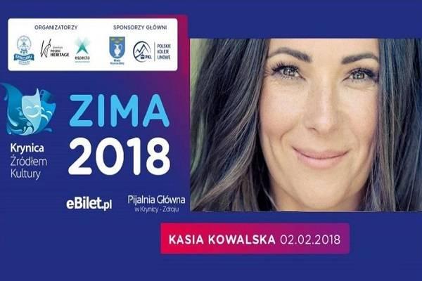 Koncert: Kasia Kowalska w Krynicy-Zdroju