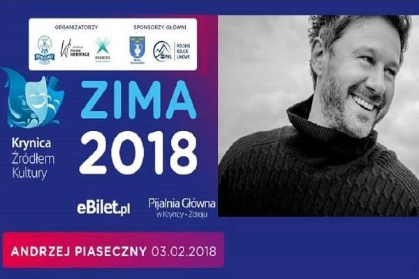 Koncert: Andrzej Piaseczny w Krynicy-Zdroju