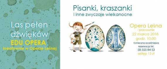 Wielkanocne warsztaty plastyczne w Sopocie