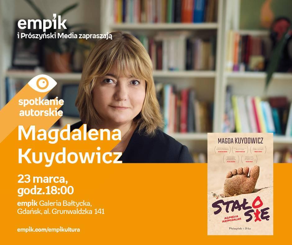 Spotkanie autorskie Magdaleny Kuydowicz w Gdańsku