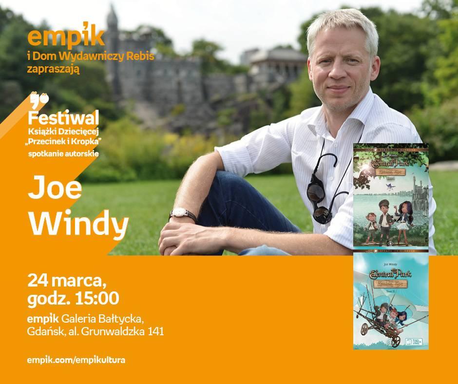 Spotkanie autorskie Joe Windy'ego w Gdańsku