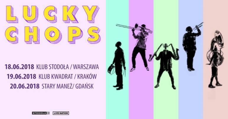 Koncert Lucky Chops w Krakowie w Gdańsku