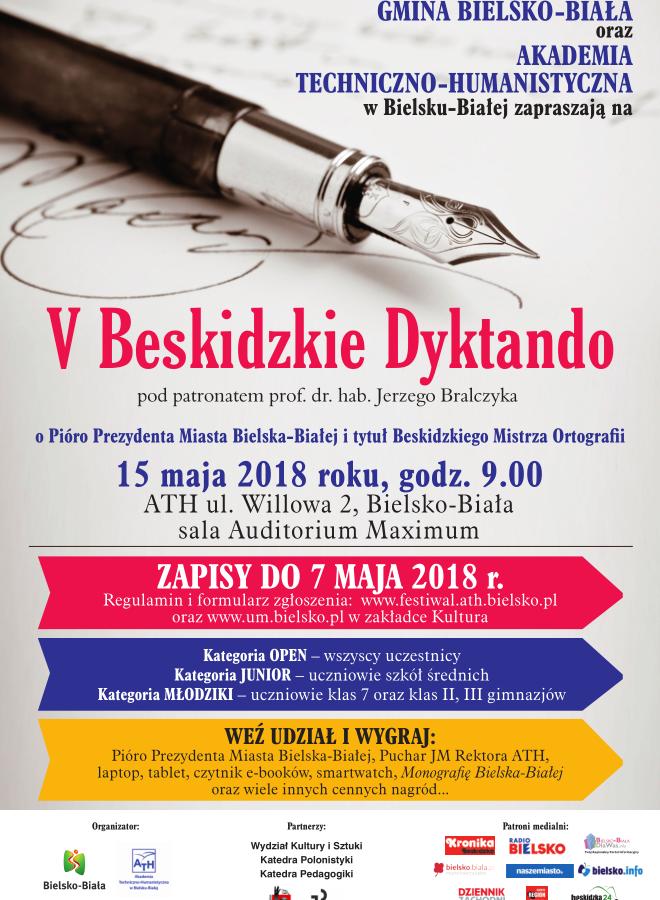 V Beskidzkie Dyktando w Bielsku-Białej