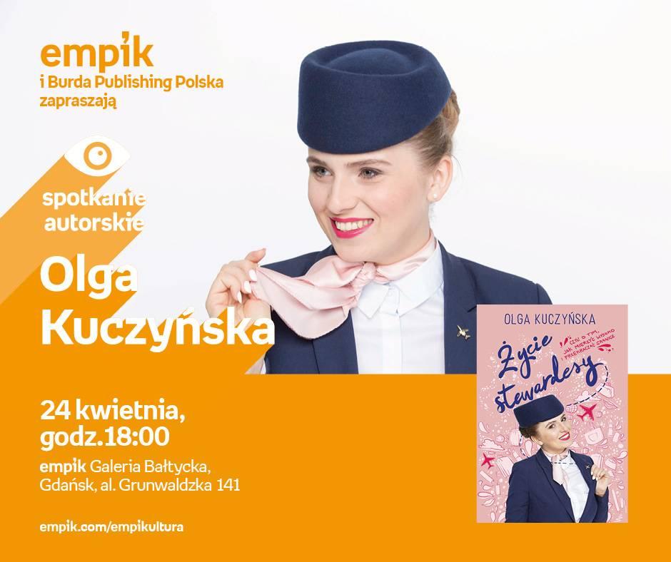 Spotkanie autorskie: Olga Kuczyńska w Empiku Gdańsk