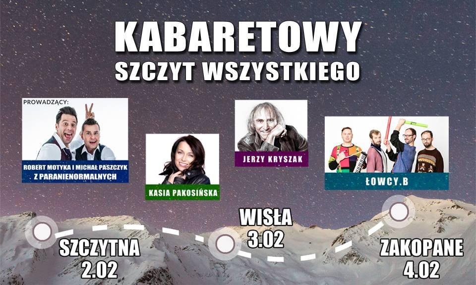Kabaretowy Szczyt Wszystkiego w Wiśle