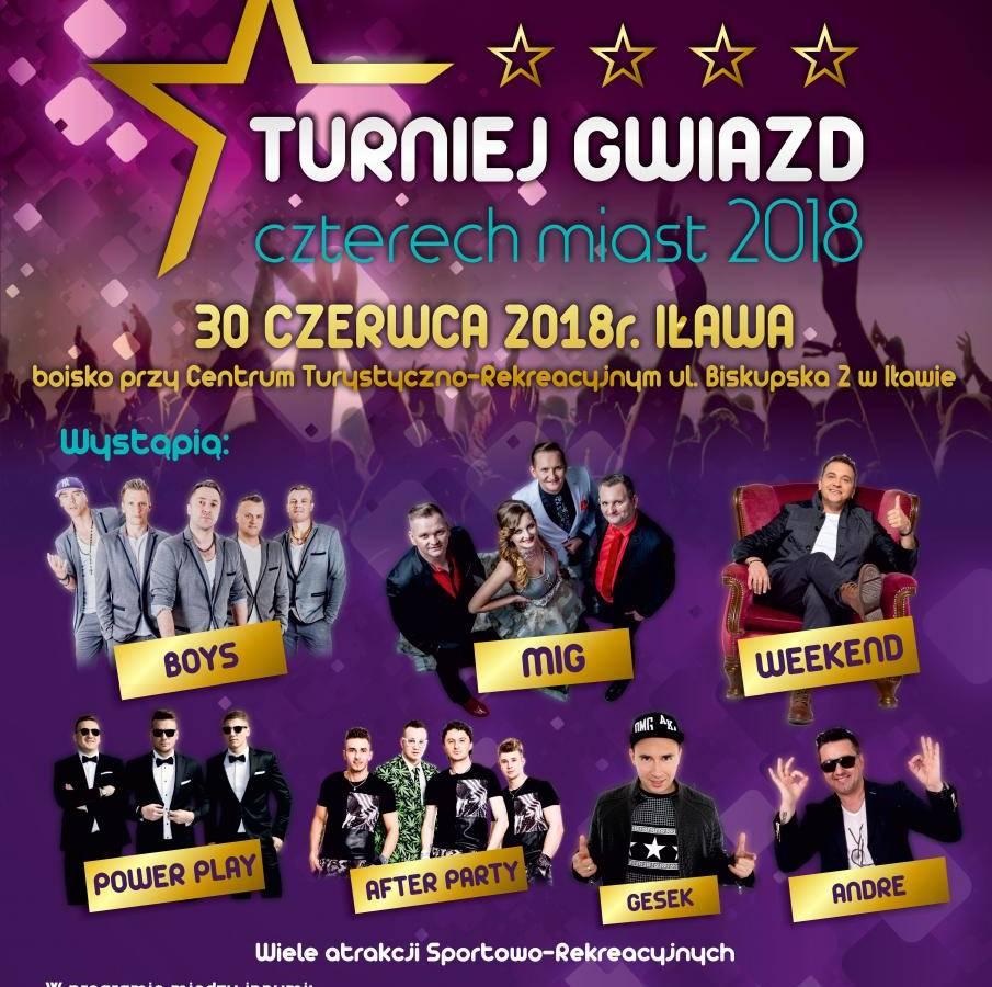 Gala Disco Polo Turniej Gwiazd Czterech Miast w Elblągu