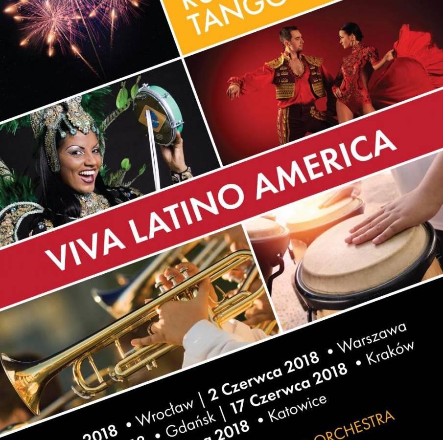 Viva Latino America - koncert w Krakowie
