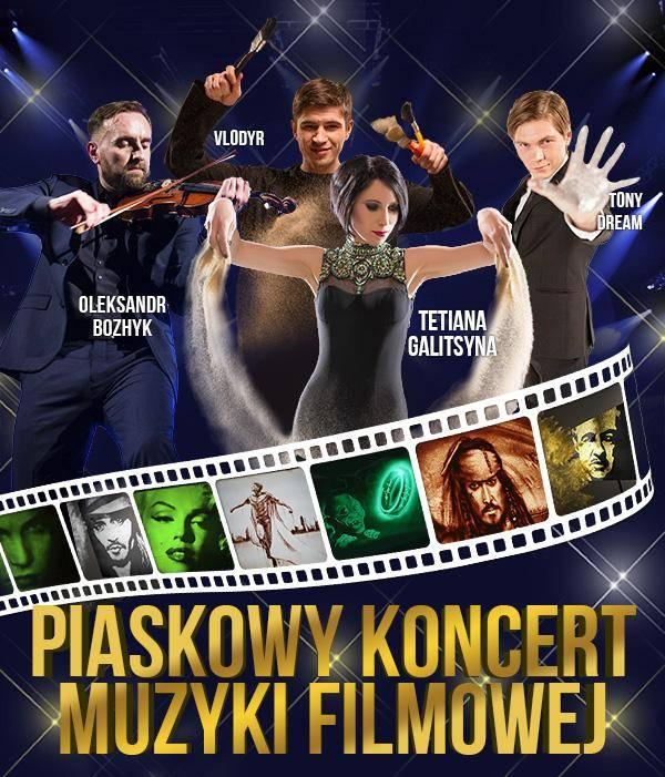 Teatr Piasku Tetiany Galitsyny - Rodzinne Show w Zielonej Górze