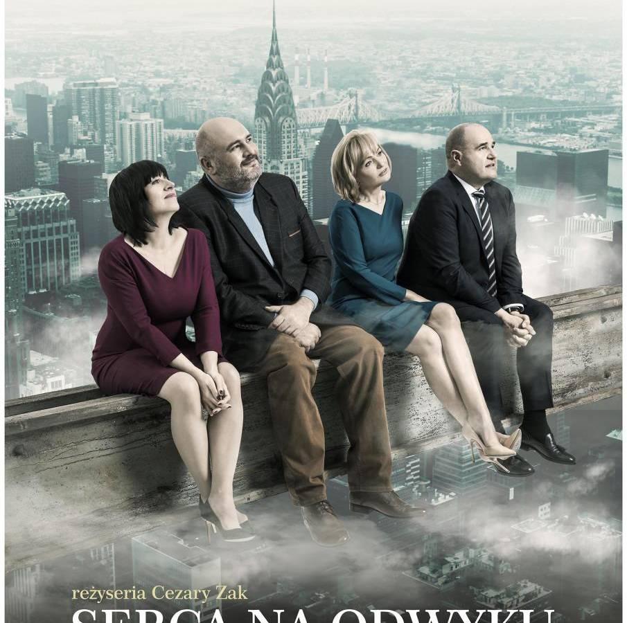 Spektakl w reż. Cezarego Żaka: Serca na odwyku - Zielona Góra