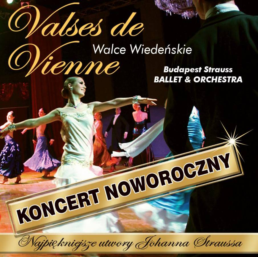 Budapest Strauss Orchestra - Valses de Vienne - Sosnowiec