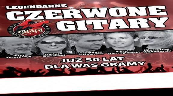 Legendarne Czerwone Gitary - koncert w Przemyślu