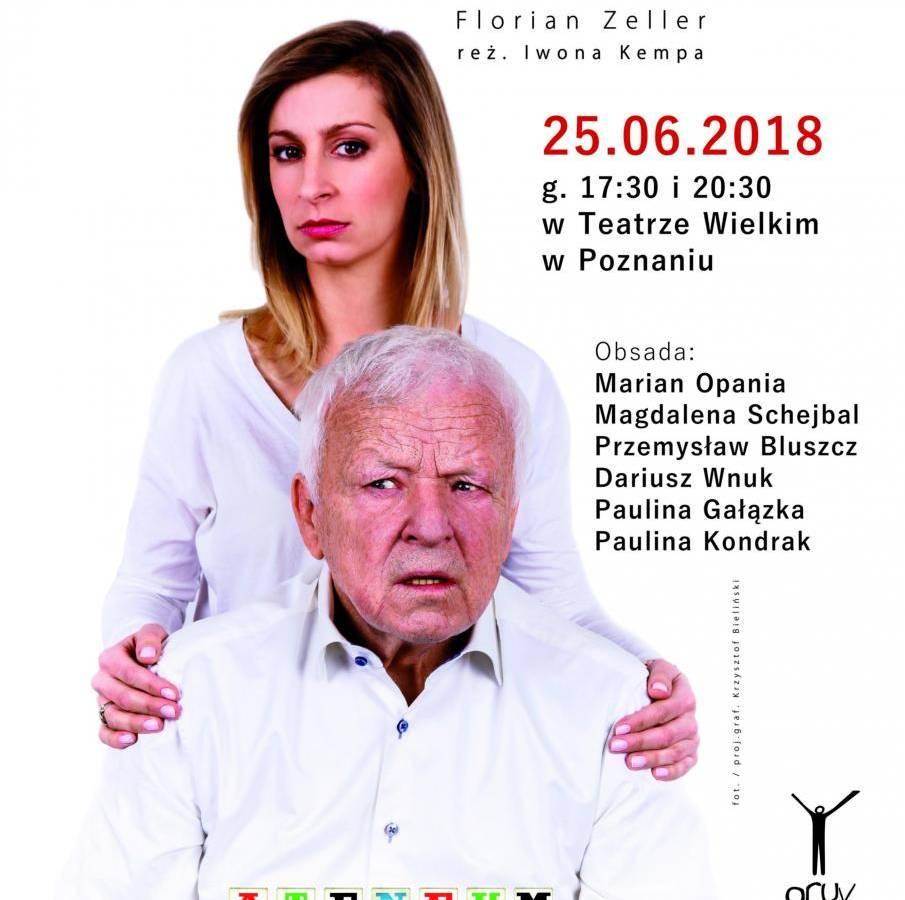 """Spektakl """"Ojciec"""" w Poznaniu"""