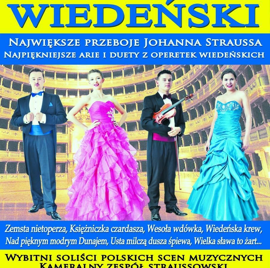 Koncert Wiedeński w Słupsku: Największe przeboje Johanna Straussa