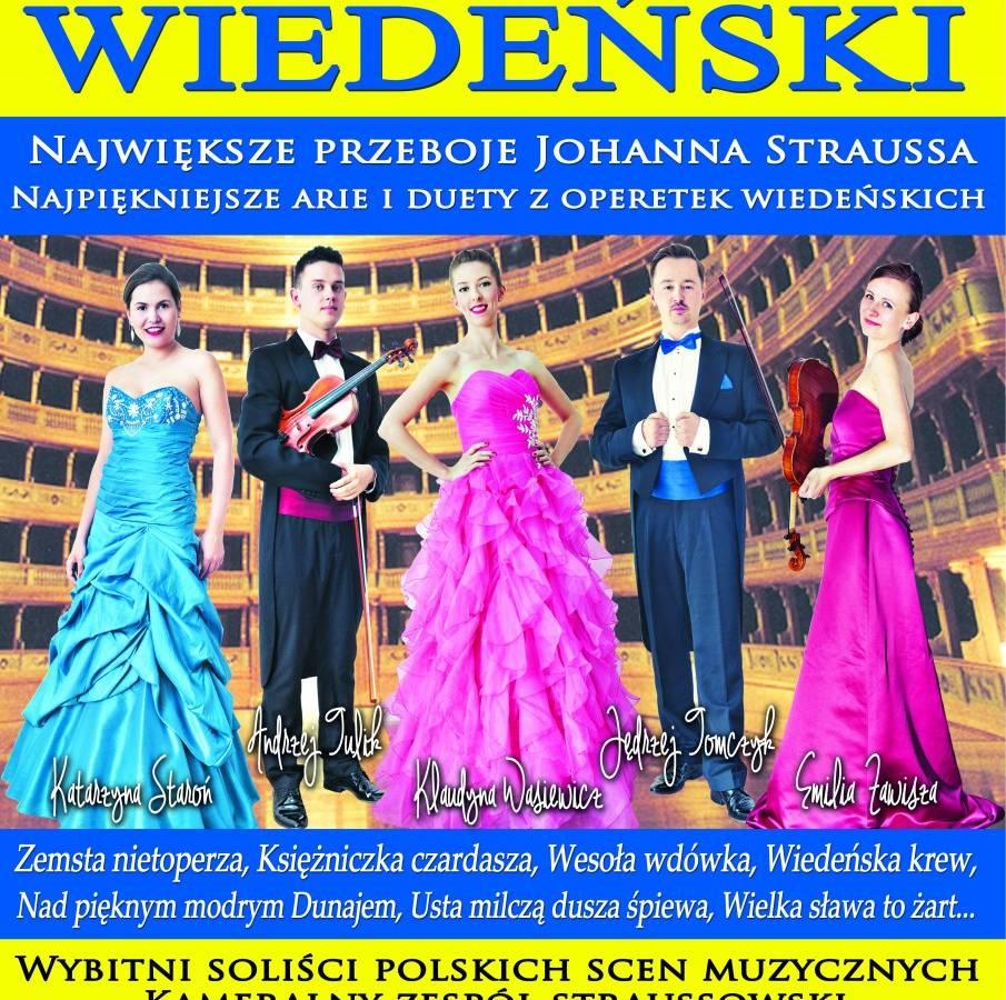 Koncert Wiedeński w Toruniu: Największe przeboje Johanna Straussa