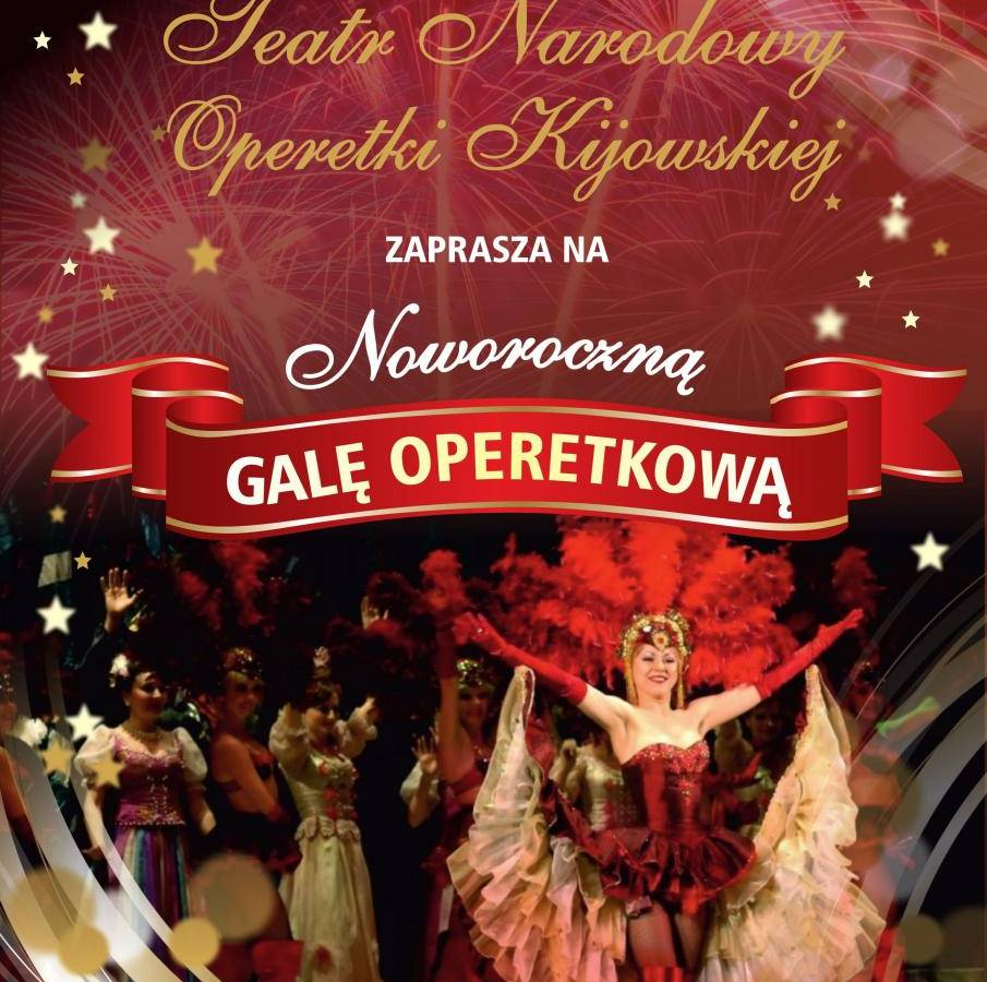 Noworoczna Gala Operetkowa w Rzeszowie