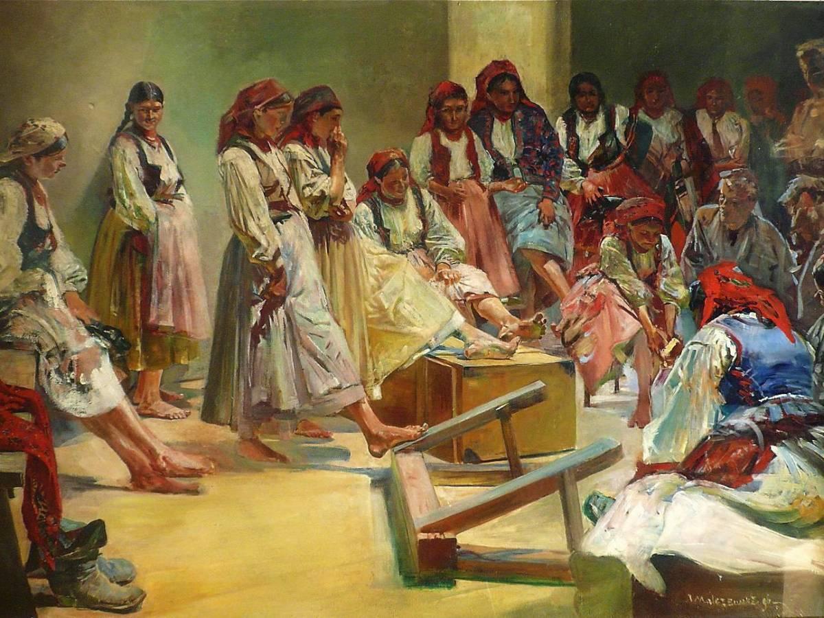 Oprowadzanie kuratorskie po wystawie malarstwa Jacka Malczewskiego