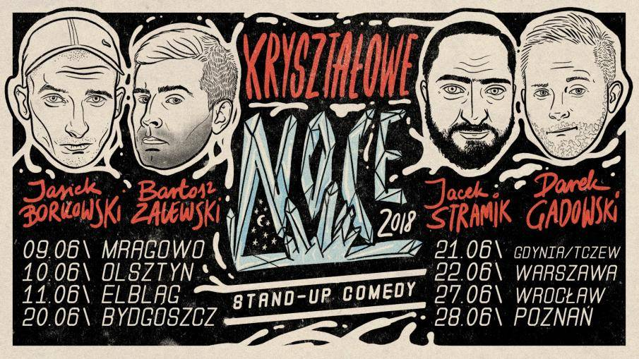 Kryształowe Noce 2 - Stand-up w Poznaniu