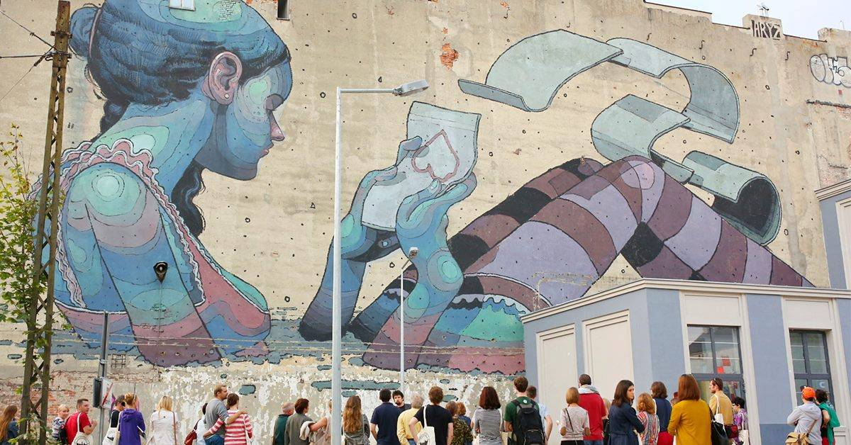 Wycieczka szlakiem łódzkich murali
