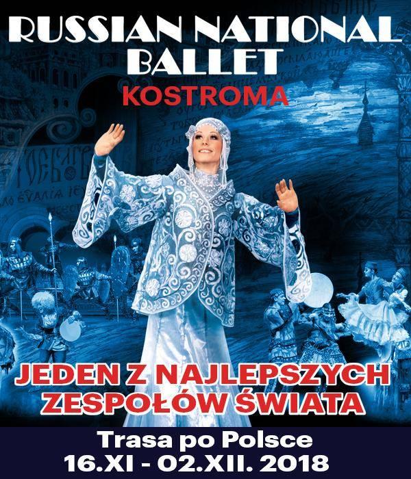 Russian National Ballet. Kostroma - Szczecin