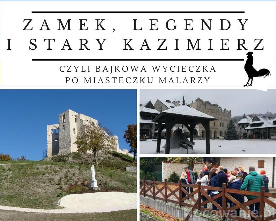 Wycieczka z przewodnikiem Zamek, legendy i stary Kazimierz