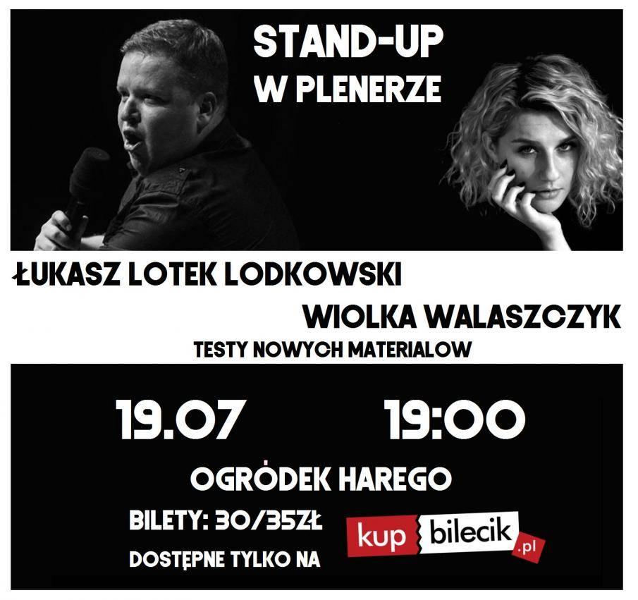 Letnia scena stand-up w Białymstoku
