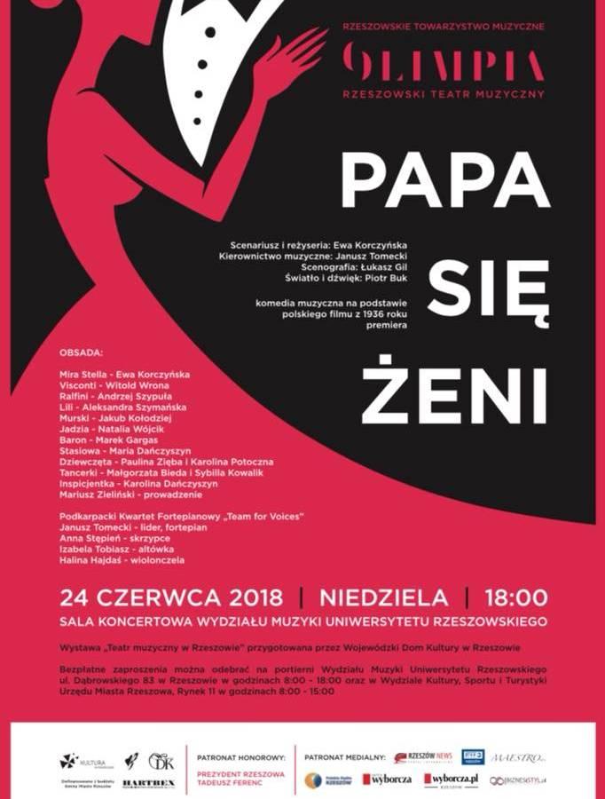Pierwsza premiera Rzeszowskiego Teatru Muzycznego OLIMPIA