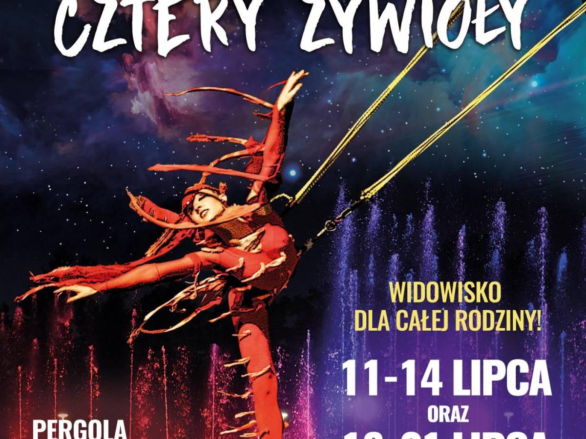 """Spektakl akrobatyczny """"Cztery żywioły"""" we Wrocławiu"""
